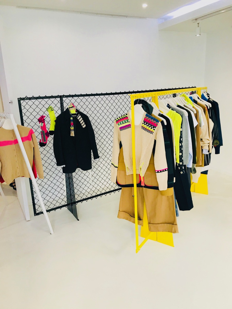AW19 Paris showroom